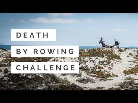 Rowing Machine: Death by Rowing Challenge