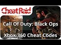 Download Call Of Duty: Black Ops Cheat Codes | Xbox 360 MP3,3GP,MP4