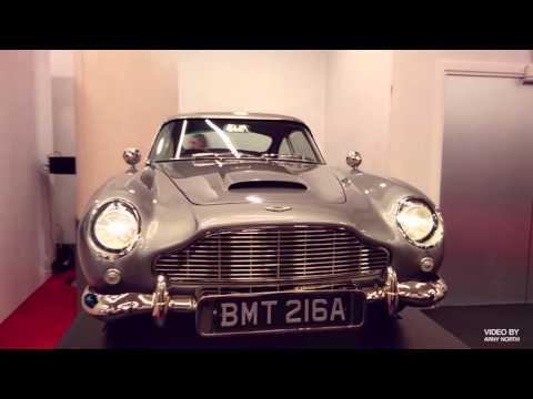 ASTON MARTIN DB5 One-Third scale model Bond film SKYFALL 007