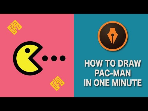 How to Draw Pac-Man in Illustrator| #illustratortutorials