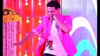 Mudassar Khan Dance Performance At Puja Banerjee And Kunal Verma Engagement