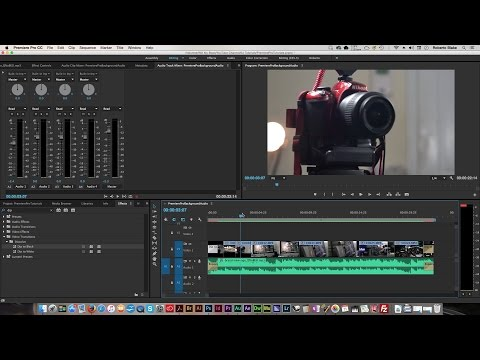 How to Add Background Music To Video In Premiere Pro CC 2015