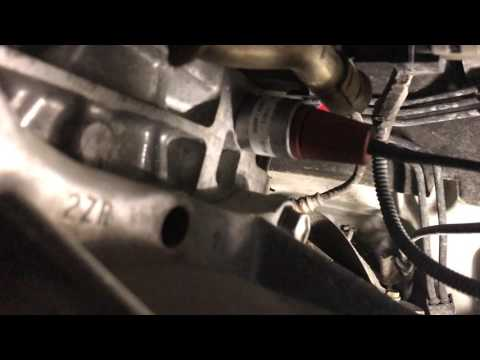 2009 Toyota Corolla LE engine block heater install