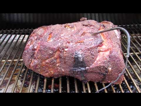 How To Make BBQ Pulled Pork - Smoke Pork Butt Recipe