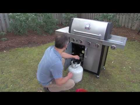 Testing Your Gas Grill for a Leak