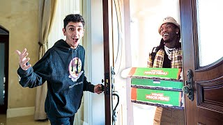 Offset Delivered Food to my House! **SURPRISE**