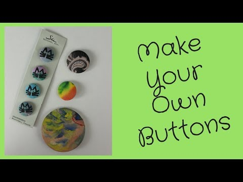 DIY Buttons without a Badge Machine