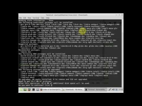 C++ Tutorial: Setting up Qt Creator on a clean installation of Linux Mint