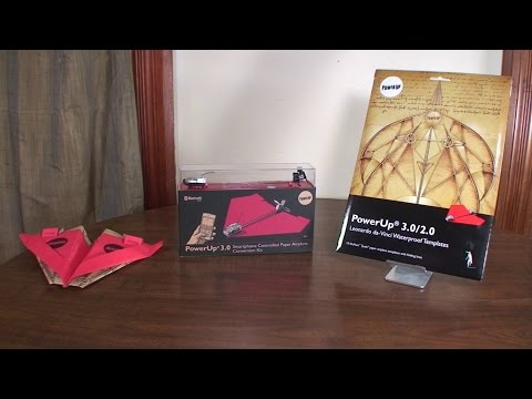 Power Up 3.0 (RC Paper Airplane) - Review and Flight Attempts