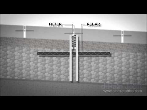 d-Rain Joint™ Exterior, Linear Filter Drain for Public Spaces