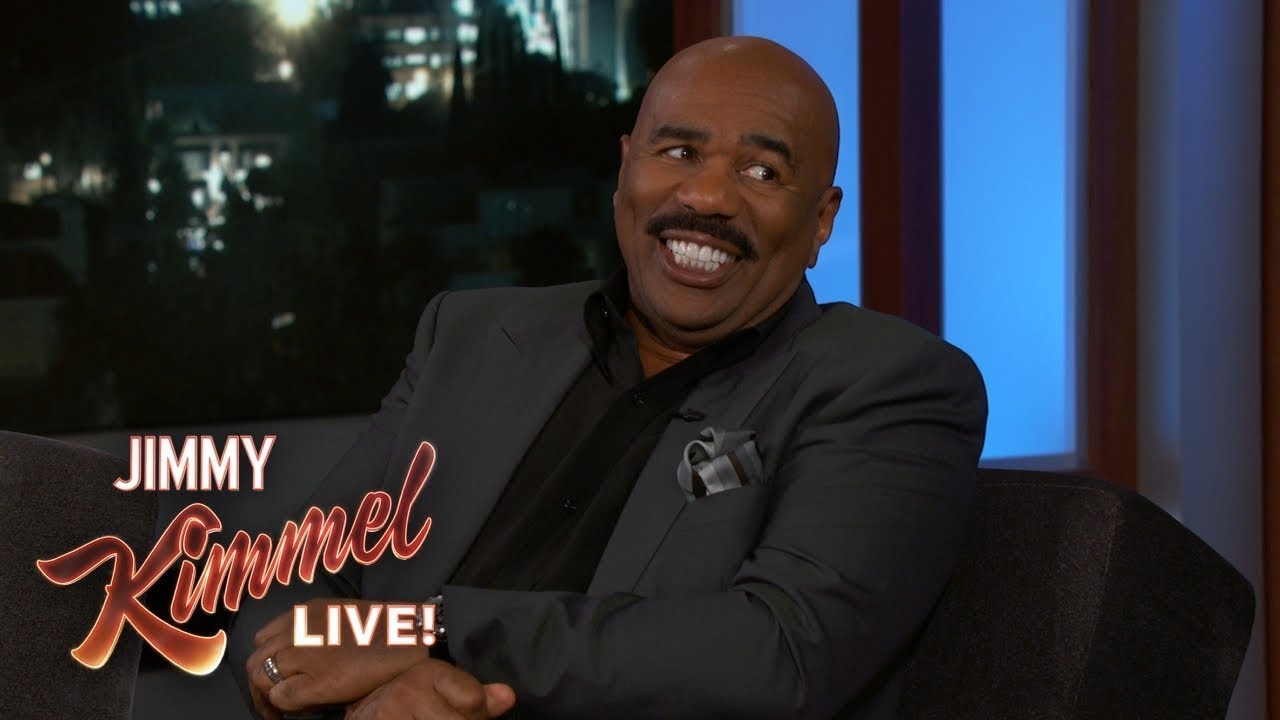Steve Harvey Doesn't Like Being a Grandfather