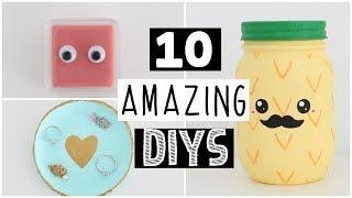 10 AMAZING MOST POPULAR DIYS ANYONE CAN MAKE!