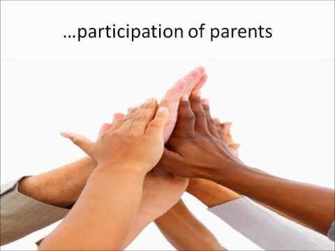 Written District Parental Involvement Policy Presented to the PTA