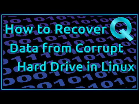 How to Recover Data from Corrupt Harddrive in Linux