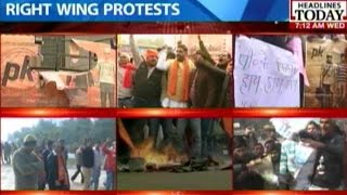 11 days of protest against PK by religious groups