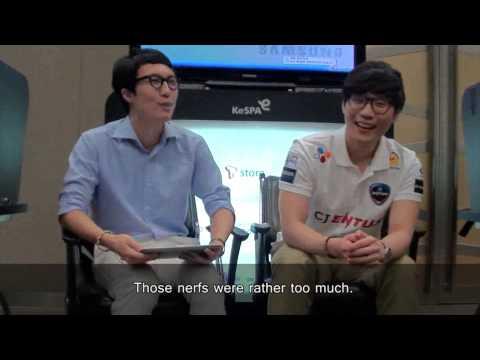 Cloth5 Interview with CJ Entus Frost Jungler Cloud Templar