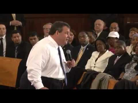Governor Christie On Urban Schools: You're Damn Right I'm Willing To Fight