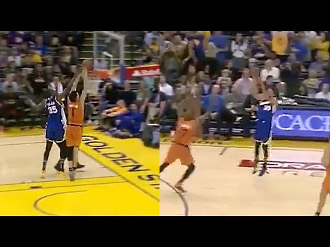 Kevin Durant's Chasedown Block Turns Into Steph Curry 3 Pointer
