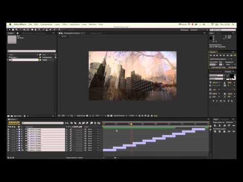 Quick tip #2 (AE): Creating an image sequence with transition