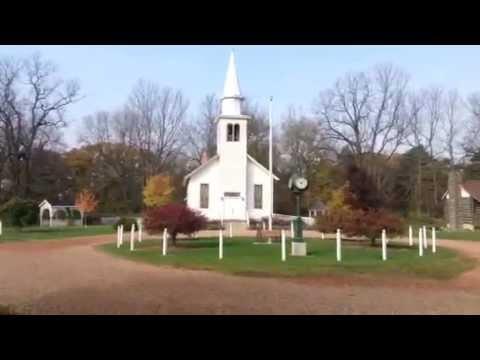Historical Village Corunna Michigan Wedding Country Church
