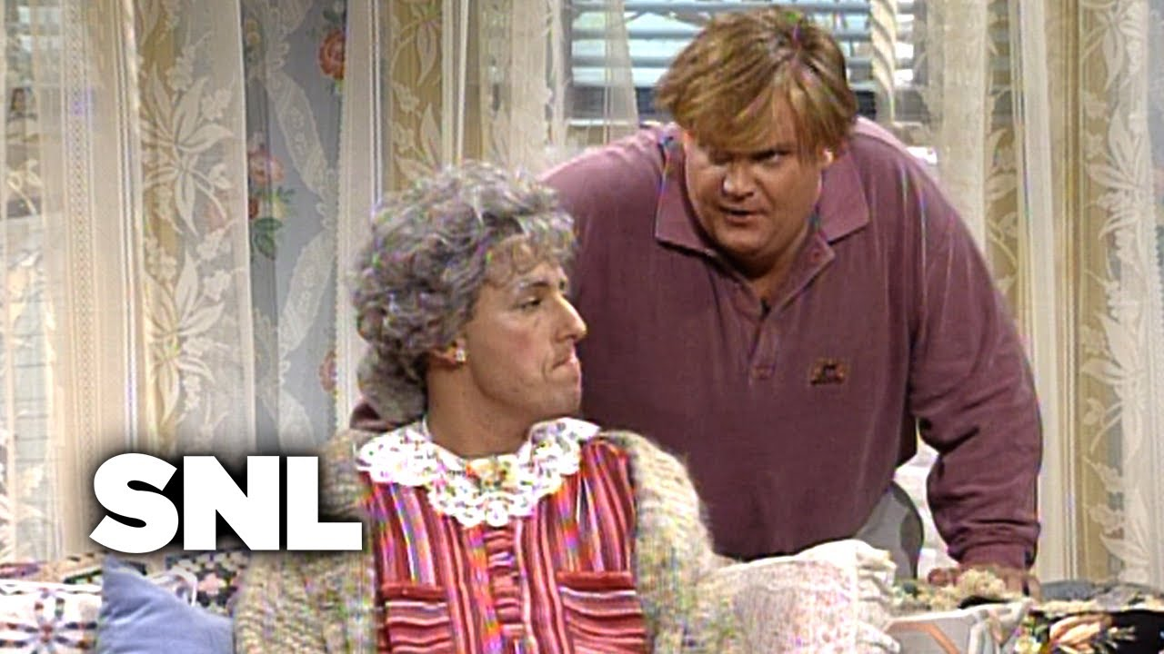 Bobby Watches Grandma - SNL