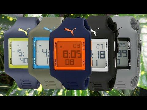 PUMA Men's Sport Watch Slide Collection