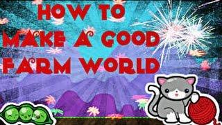 Growtopia : SPEED BUILDING MY FARM WORLD! - myvideoplay com Watch