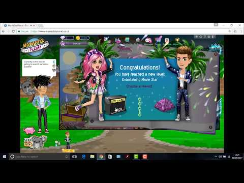 MOVIESTARPLANET - REACHING LEVEL 20 IN 3 DAYS!!! (WITHOUT VIP) - WORLD RECORD