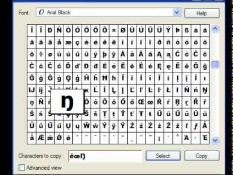 How to make letters like Ťĥįś™