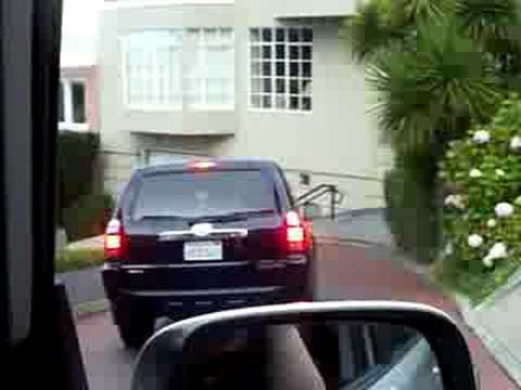 Driving down Lombard St! [7.28.2008]