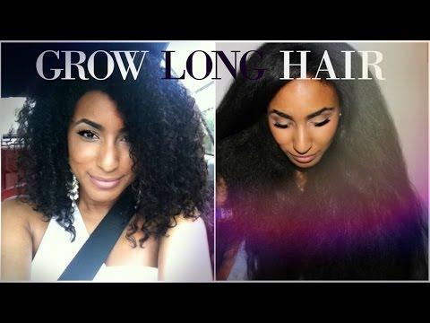 How to grow long hair fast - Ep1 POROSITY