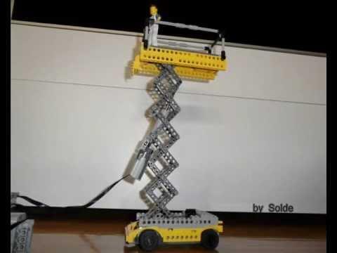 Lego Technic Platform Scissor Lift by Solde