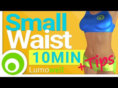 Waist Workout: Small Waist Exercises | 10 Minutes