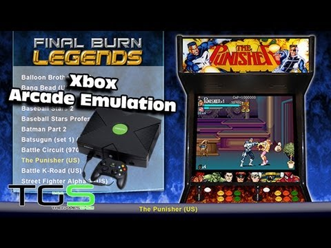 Final Burn Legends With Working Games Set (Modded Xbox)