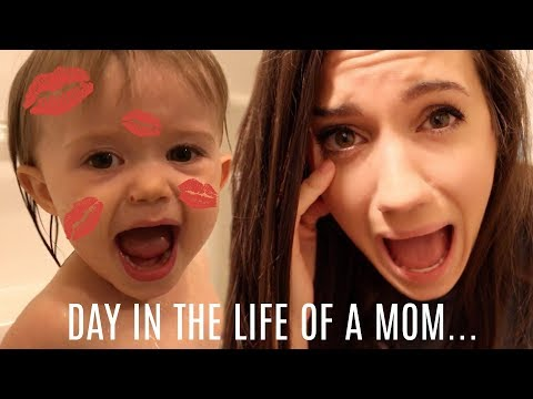 THE ULTIMATE DAY IN THE LIFE of a mom // DOES NOT GET MORE REAL THAN THIS // WE ARE A HOT MESS