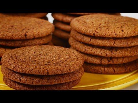 Gingersnap Cookies Recipe Demonstration - Joyofbaking.com