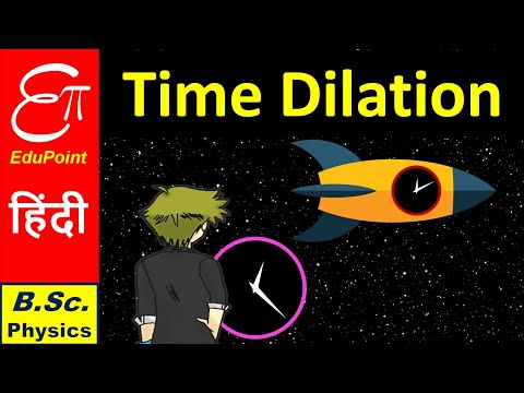 TIME DILATION || Special Relativity Part - 3.2 || for B.Sc. in HINDI