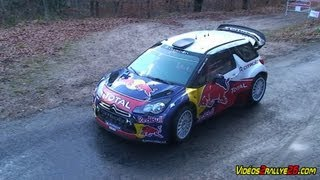 Tests Sébastien Loeb  Rallye Monte-Carlo 2012  [HD]