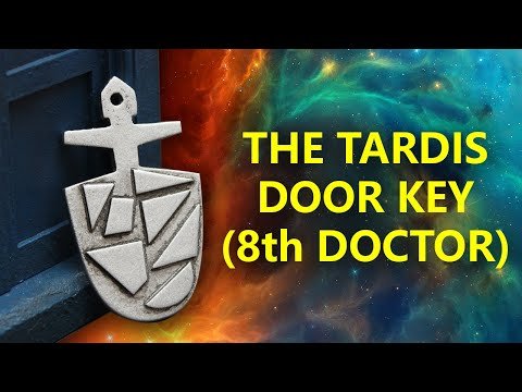 The 8th Doctor's TARDIS Door Key Prop (Build Project)