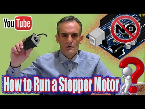 Arduino Olmadan Bir Step Motor Nasıl Çalıştırılır