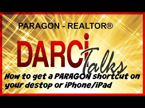 How To Create a Shortcut on Your Desktop, iPhone, iPad for PARAGON