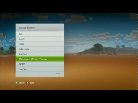 How to Unlock a Free Minecraft Xbox 360 Dashboard Theme