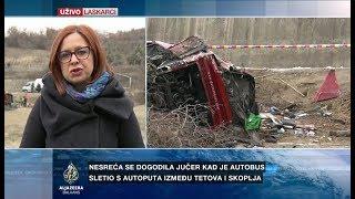 Blaževska Evrosimoska: Još Nejasno Zašto Se Autobus Prevrnuo