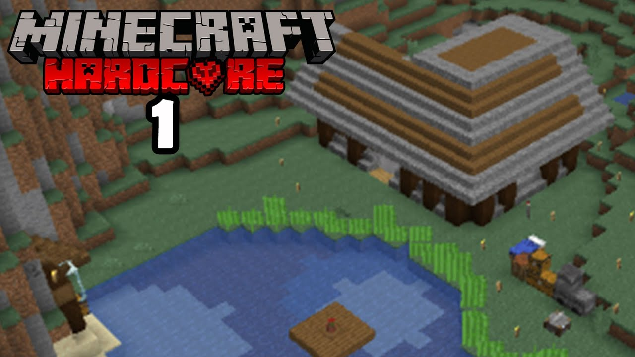The PERFECT Start! (Minecraft Hardcore EP1)