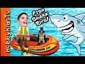 Giant FISHING Adventure with HobbyKidsTV