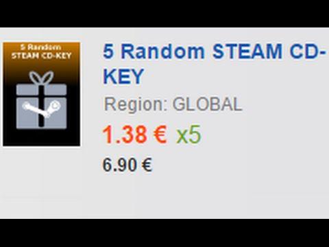 50 RANDOM STEAM CD-KEYS from G2A