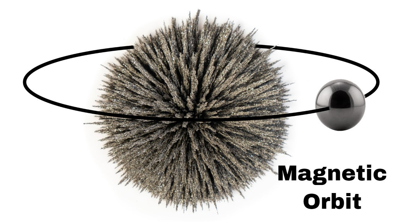 Can You Make Magnets Orbit Each Other?