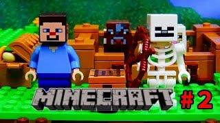 レゴ【マインクラフト】ストップモーションlego Minecraft Stop Motion Episode2    21114 Mojang
