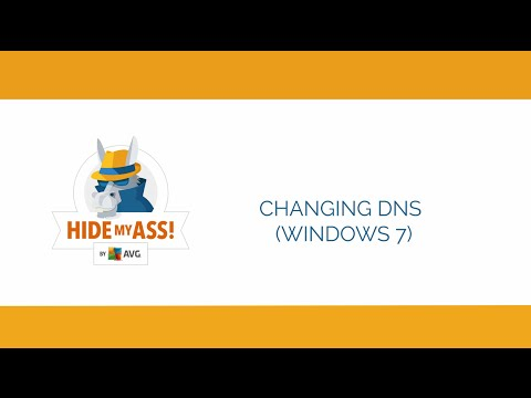 Changing your DNS settings on Windows 7 | Hide My Ass!