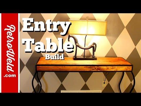 🔴 Custom Contemporary Table Build